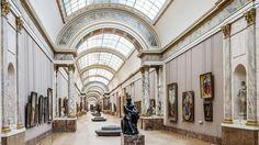 La Grande Galerie fait depuis six mois l'objet d'un vaste réagencement, ce qui n'était pas arrivé depuis le plan Grand Louvre des années 1980.