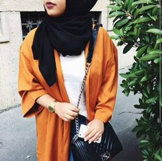 OOTD Hijab _ Minimal _ We Heart It