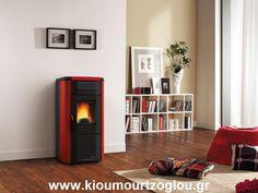 Pelletofen Extraflame Viviana Plus Evo Bordeaux, Double Flux, Prezzo, Stove, Home Appliances, Interior Design, Wood, Home Decor, Products