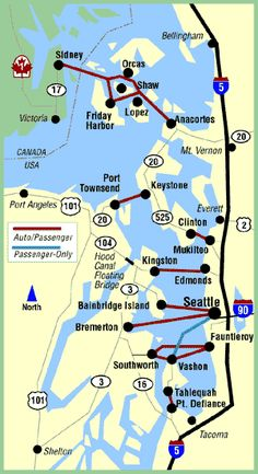 WASHINGTON Ferries f