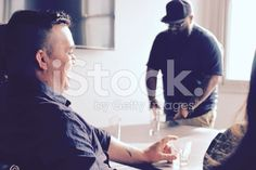 Relaxed Afternoon Small Business Meeting royalty-free stock photo