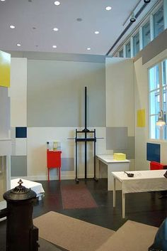 Mondriaan verhuisde in 1912 naar Parijs. - sikkensfoundation