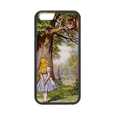 CaseCoco:Alice in Wonderland Cheshire Cat with Alice Case for iPhone 6  -$17.95  Casecoco.com
