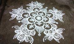 Kolam for Varalakshmi Pooja