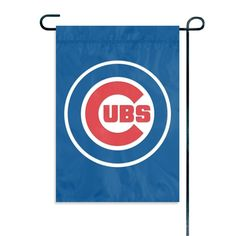 Chicago Cubs MLB Mini Garden or Window Flag (15x10.5)