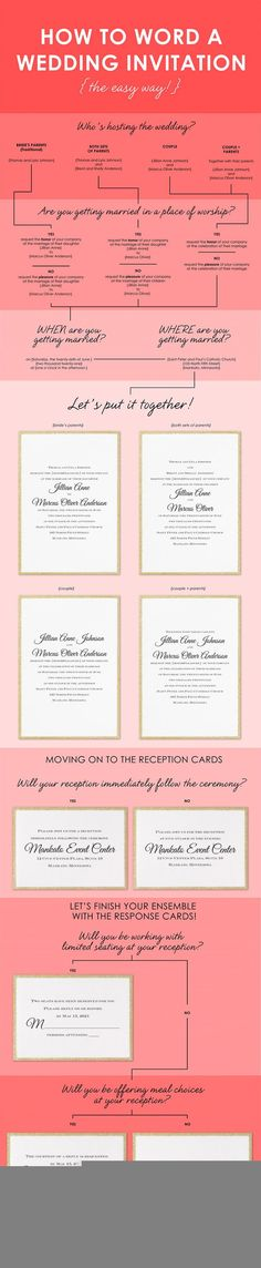 Over 200 wedding invitations that can be match your wedding color - best of invitation wording lunch to follow