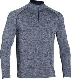 Top Men's Cold Weather Running Clothes: Under Armour Men's Tech 1/4 Zip Long Sleeve Shirt