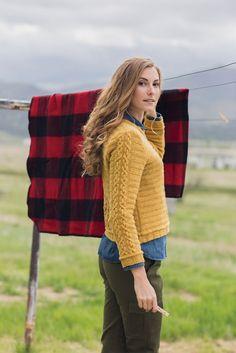Yellow Gold Pullover, Linda Marveng, Knits Fall 2015