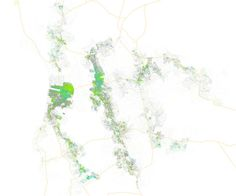 San Francisco Mapped By How People Commute | Co.Exist: World changing ideas and innovation
