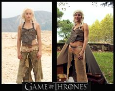 Daenerys Targaryen Cosplay Dothraki dress Game of by Entrophya, €80.00