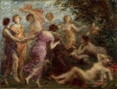 Henri Fantin-Latour - The Temptation of St. Anthony - oil on canvas x cm. National Museum of Western Art,Tokyo Henri Fantin Latour, The National, National Museum, Paul Signac, Temptation Of St Anthony, Sonia Delaunay, Pre Raphaelite, Old Master, Western Art