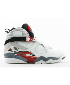 914b2b6388633b Air Jordan 8 Retro White Black True Red 305381 101