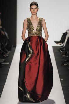 Dennis Basso Fall 2014 Ready-to-Wear Fashion Show