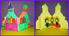 παιχνιδοκαμώματα στου νηπ/γειου τα δρώμενα: η γιορτή των 3 Ιεραρχών !!! Triangle, Painting, Greek, Painting Art, Greek Language, Paintings, Drawings
