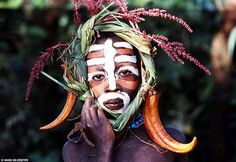 Child of the Suma/Mursi Tribe(s) of East Africa's Omo Valley