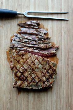 Grilled Garlic Flank Steak | Lauren's Latest