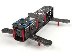 H-King Pocket 240mm Foldable Premium 240mm FPV Ready Quad Copter Frame W/PDB (KIT)