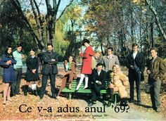 Group Photo of Romanian Actors Socialist State, Socialism, Warsaw Pact, Central And Eastern Europe, Group Photos, Soviet Union, Time Travel, Romania, Cinema