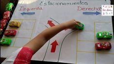 Actividad de  lateralidad y orientación espacial en preescolar - YouTube