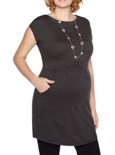 Boat Neck #maternity top #pregnancy via @Thyme Maternity - LOVE!