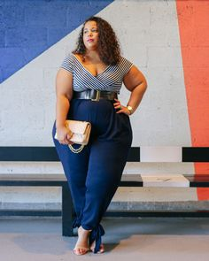 Plus Size Fashion for Women - GarnerStyle | The Curvy Girl Guide: Alluring Nautical