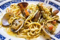Clam Pasta - Riomaggiore, Italy