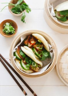 Pork Belly Buns (Gua Bao)   www.kitchenconfidante.com   How to make Momofuku inspired Pork Belly Buns.