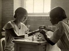 An incubator for black pride and intellect, The Bordentown School taught values, discipline, and life skills to generations of black children. (Photo: Lewis Hine, ca. 1935)