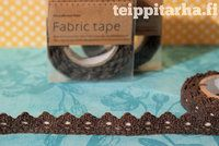 Brown lace tape