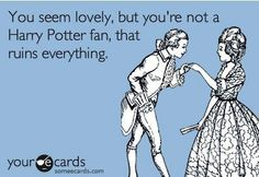 If Harry Potter's important to you.