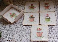 podkładki słodkie muffins