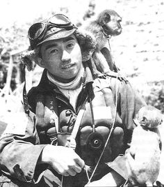 A veteran of Rabaul, CPO Takeo Tanimizu (see next chapter for his biography) subsequently served in Formosa with the Tainan AG during the summer and winter of 1944, battling with USAAF B-24s and P-51s. On 3 November 1944 he was shot down by a P-51 over Amoy Harbour, China, and survived with critical burns. Upon his recovery he volunteered for the kamikazes but was rejected  Photo and caption featured in Osprey Aircraft of the Aces • 22 Imperial Japanese Navy Aces 1937-45 by Henry Sakaida