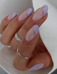 Simple & Fresh Nail Designs you Should Try Now Perfect Nails, Gorgeous Nails, Pretty Nails, Stylish Nails, Chic Nails, Almond Nails Designs, Nail Designs, Bright Nail Art, Romantic Nails