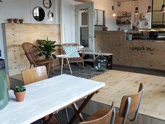 SMEER'M Koffiebar & Lunchroom, Spoorzone Tilburg 013 Straatjes