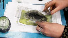 Sebastian the Seahorse - A Lavinia Stamps Tutorial Magic Tutorial, Gel Press, Lavinia Stamps, Video Page, Brusho, News Online, Creative Art, Card Making, Drawings