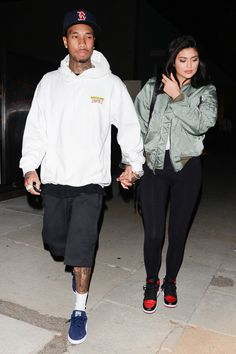 19.7.16 - Kylie and Tyga leaving at Milk Studios in Beverly Hills