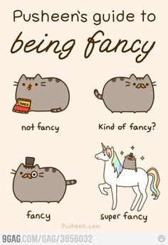 Pusheen is an irresistible and adorable kitty! Pusheen is the definition of perfect! WARNING: There is an overload of Pusheen Randomness in this book! Kawaii Pusheen, Gato Pusheen, Pusheen Love, Pusheen Stuff, Crazy Cat Lady, Crazy Cats, I Love Cats, Cute Cats, Kawaii Potato