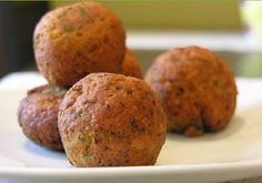 Albóndigas de Garbanzos - Recetas De Cocina saludables Y Para Vegetarianos Raw Food Recipes, Veggie Recipes, Mexican Food Recipes, Diet Recipes, Vegetarian Recipes, Cooking Recipes, Healthy Recipes, Lunch Snacks, Healthy Snacks
