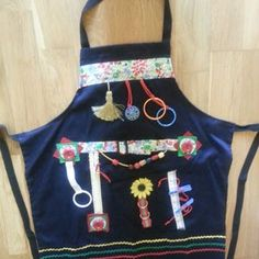 Hand Made Full Fiddle Apron