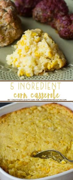 This 5 Ingredient corn Casserole is so simple it is practically impossible to mess it up.