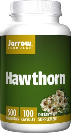 Jarrow Formulas Hawthorn, Promotes Healthy Circulation and Antioxidant Protection,  500mg, 100 Caps >>> Visit the image link more details.  This link participates in Amazon Service LLC Associates Program, a program designed to let participant earn advertising fees by advertising and linking to Amazon.com.