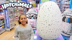 NEW HATCHIMALS Giant Surprise Egg - Magical Animal Pets Hatch From Eggs ...