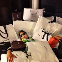 Lawren Briscoe, Attorney Tired of shopping. Luxury Lifestyle Women, Rich Lifestyle, Wealthy Lifestyle, Celine, Shopping Spree, Go Shopping, Girls Shopping, Porsche Mission E, Mode Glamour