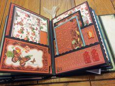 Mini Album Cookbook: Mariposa ~ DCWV ~ Mini Album