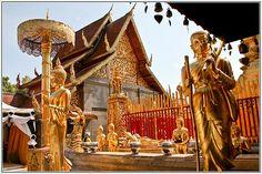 Wat Phra Thart Doi Suthep, Chiang Mai, Thailand