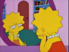 Relatable Pictures of Lisa Simpson The Simpsons, Simpsons Quotes, Simpsons Videos, Lisa Simpson, Cartoon Icons, Cartoon Memes, Cartoons, Los Simsons, Simpson Wallpaper Iphone