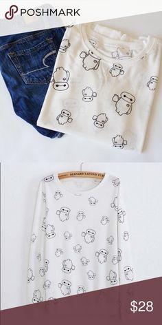 Spotted while shopping on Poshmark: Baymax! #poshmark #fashion #shopping #style #Sweaters