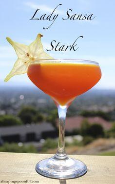 lady sansa stark game of thrones cocktail drink 7