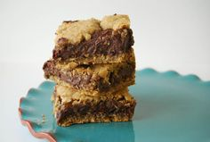 Starbucks copycat oat fudge bars