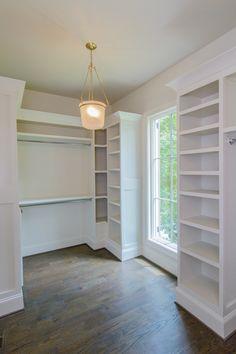 Masrter closet... Ikea pax system + trim...
